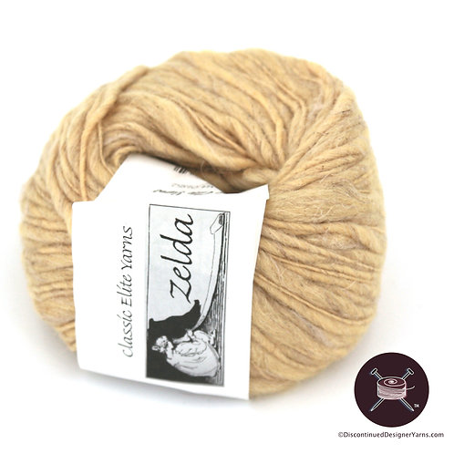 Classic Elite Zelda wool and linen rustic yarn