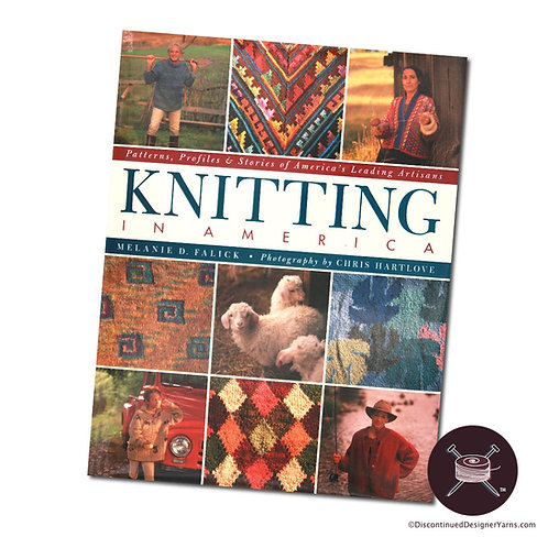 HC Knitting in America book of classic knitting patterns