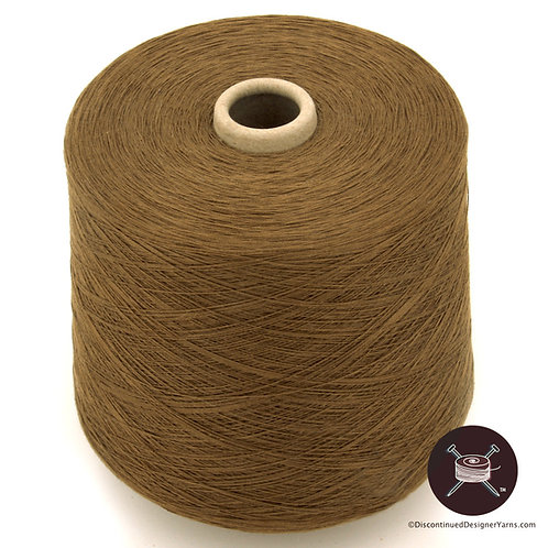 tobacco brown mercerized 20/2 cotton for weaving