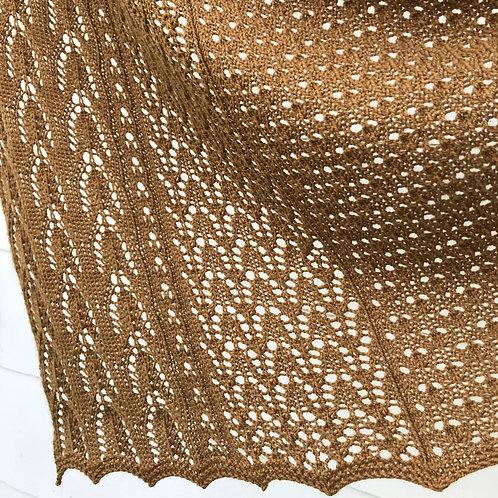 April Distraction lace shawl pdf pattern