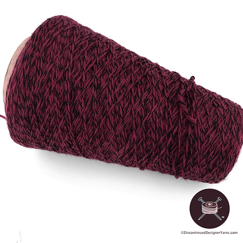 Cone sock yarn Pinot Noir burgundy wool/nylon blend