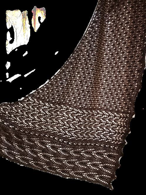 April Distraction shawl pattern