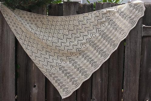 A Bias for Lace shawl pattern