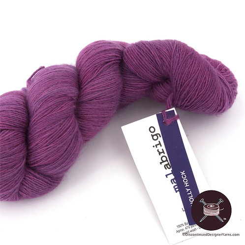 Malabrigo laceweight single ply violet yarn