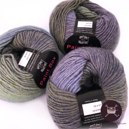 Paint Box - Lavender/Green - 5 avail