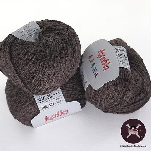 Katia Liana - Cotton/Linen/Rayon - dark taupe - 16 avail