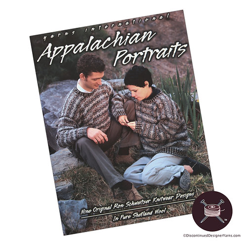 fairisle knitting pattern book with nine patterns for handknitting