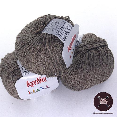 Katia Liana - Cotton/Linen/Rayon - Mid Taupe #8 - 17 avail