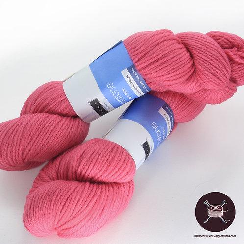 rose pink wool yarn