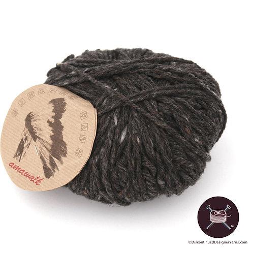 Merino Italian tweed yarn, made in Italy
