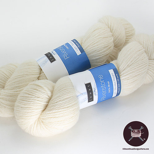 Riverstone Wool - White - last 2!