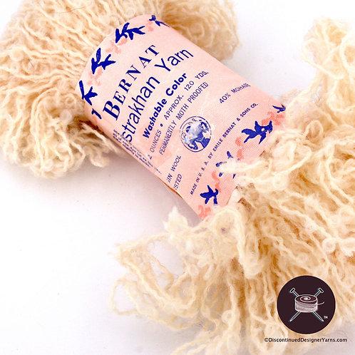 loopy mohair and wool yarn