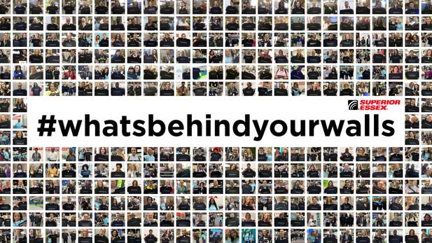 Omni-Channel Marketing Campaign: #WhatsBehindYourWalls