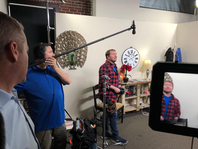 Slegehammer Video Shoot - BTS 1