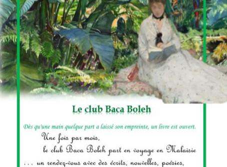 Nouvelle activité : Club Baca Boleh