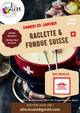 Soirée Raclette-Fondue 23 janvier