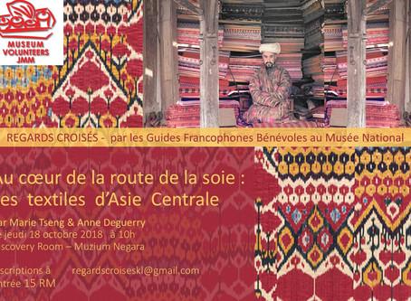 Regards Croisés - Jeudi 18 octobre à 10h au Museum Negara