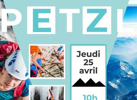 Visite de l'usine PETZL le 25 avril