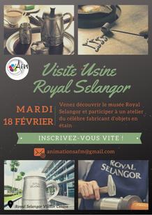 Visite de Royal Selangor