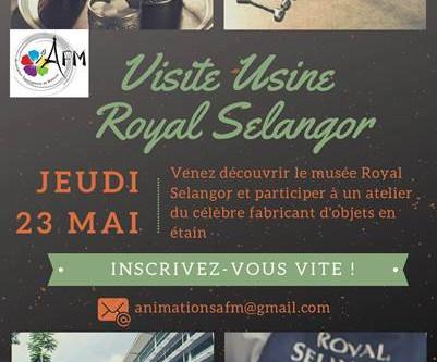 Royal Selangor le 16 mai