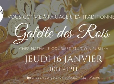 Café galette le 16 janvier