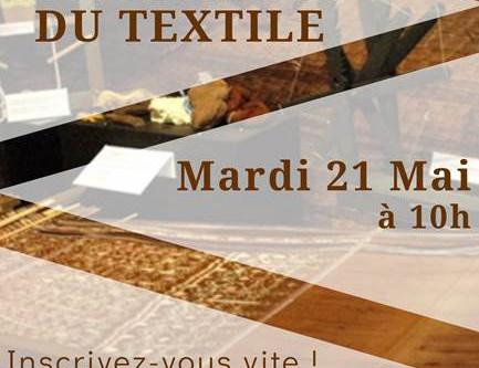 Visite du musée du textile le 21 mai
