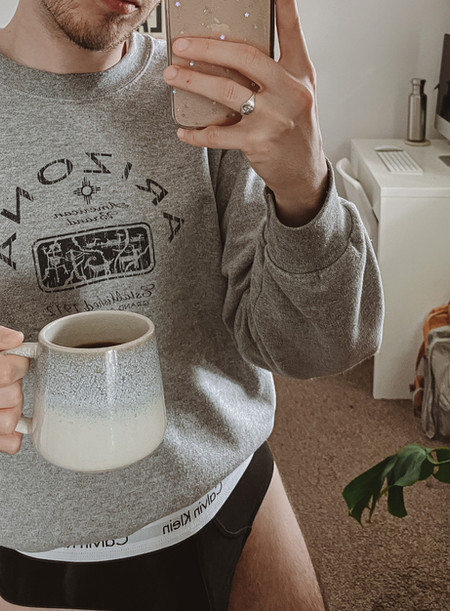 MORNING COFFEE ROUTINE ☕ | My spring morning routine in quarantine + How I brew my coffee 🌼