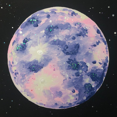 Moon Painting