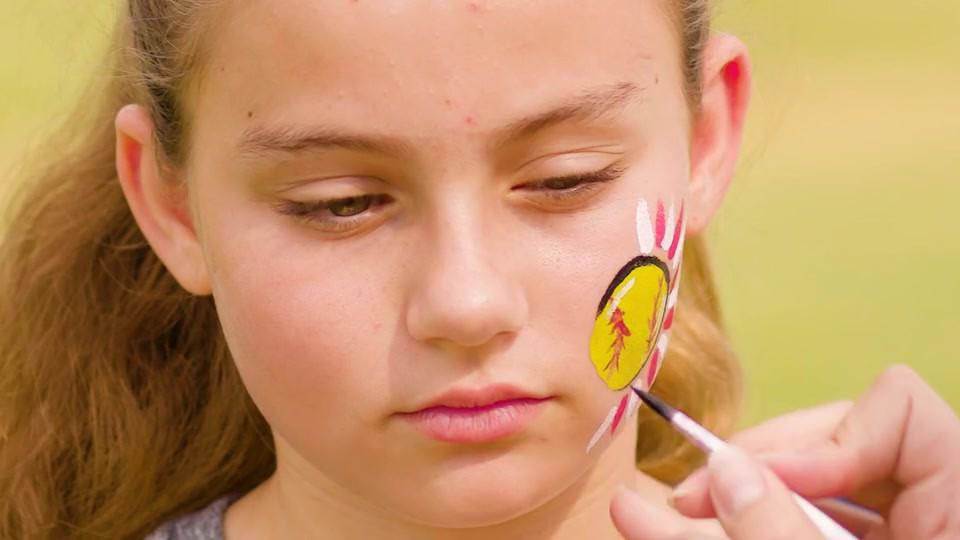 DICK'S Sporting Goods Softball Face Paint Design