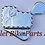 Thumbnail: Scallop Diamond Cut CHROME KICKSTAND SWITCH