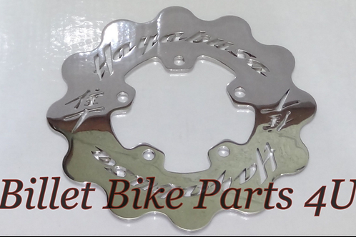 Rear Brake Rotor Polished Fits stock & fat tire