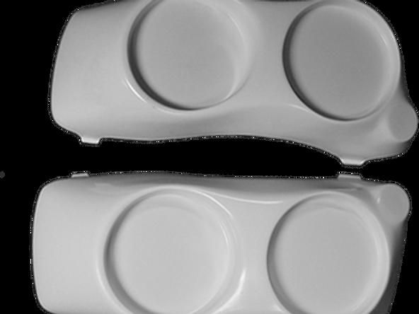 Dueler Lids Bag lids for Dual 6 5″ Kicker Speakers | ppmcustom