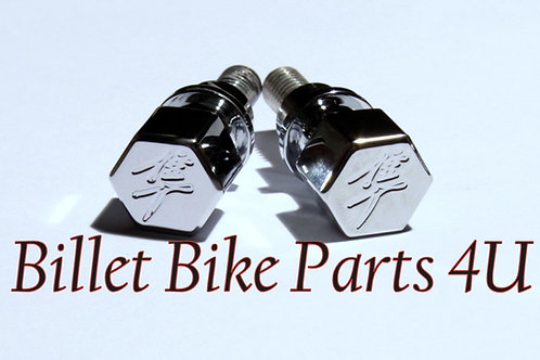 Hayabusa Chrome Hex Kanji Cargo Bolts