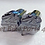 Thumbnail: Chrome 3D Scallop Chrome Seat Bolts Screws