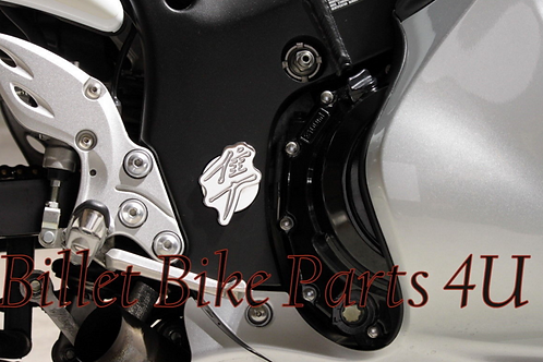 Chrome Swingarm Pivot Cover