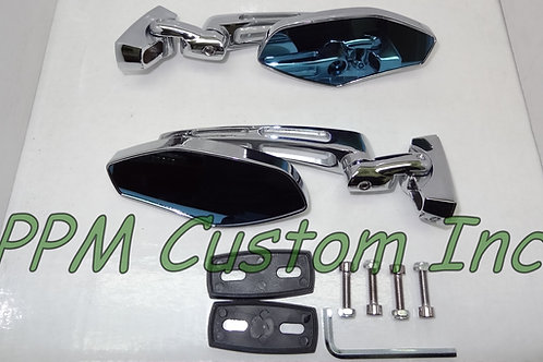 Chrome Adjustable Mirrors