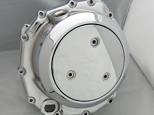 Chrome Hayabusa Factory Clutch Cover Exchange