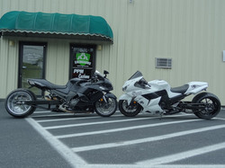 Almost Twin ZX14'S 300's