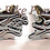 Thumbnail: Chrome 3D Scallop Ball Cut Front Foot Peg Pin 2pc