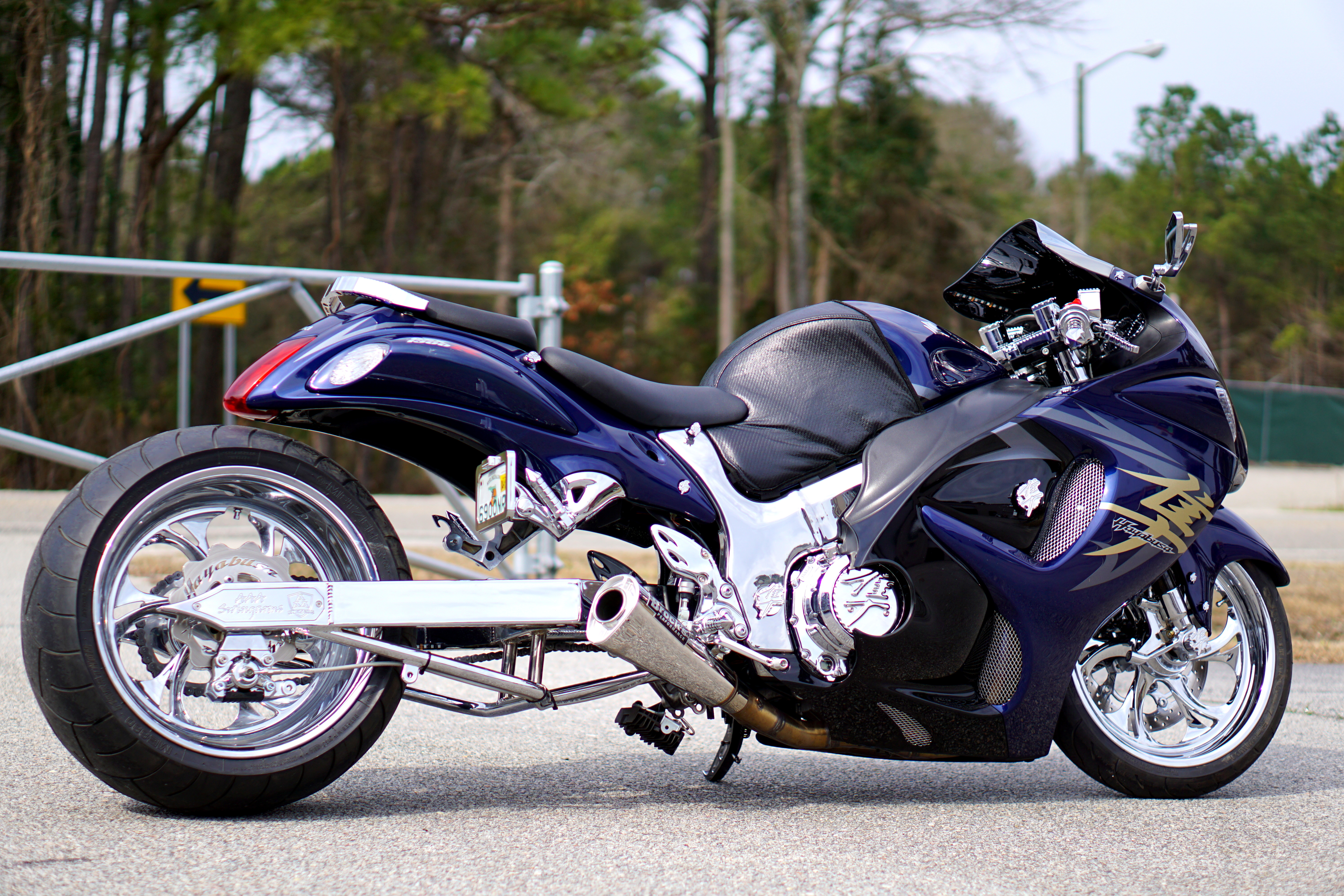 "08 Hayabusa 12"" 300 Kit All Chrome"