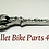 Thumbnail: Key Exhaust Plug Chrome Scallop (Left)
