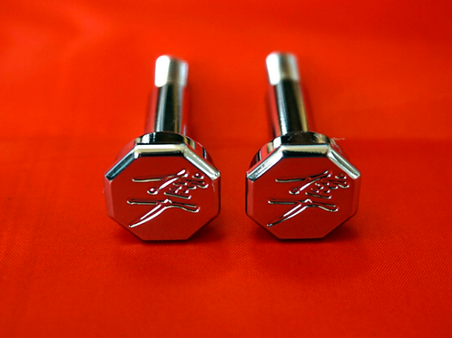 Hex Chrome Hayabusa Lever Bolts