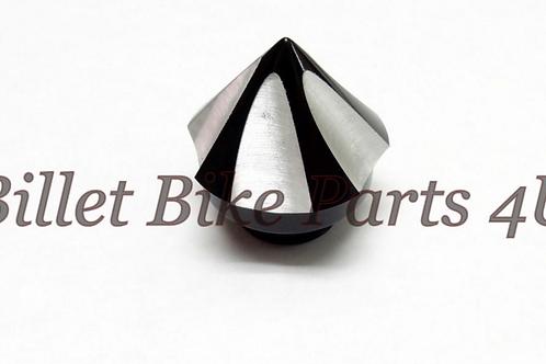 Black Billet Spike Contrast Cut Oil Cap
