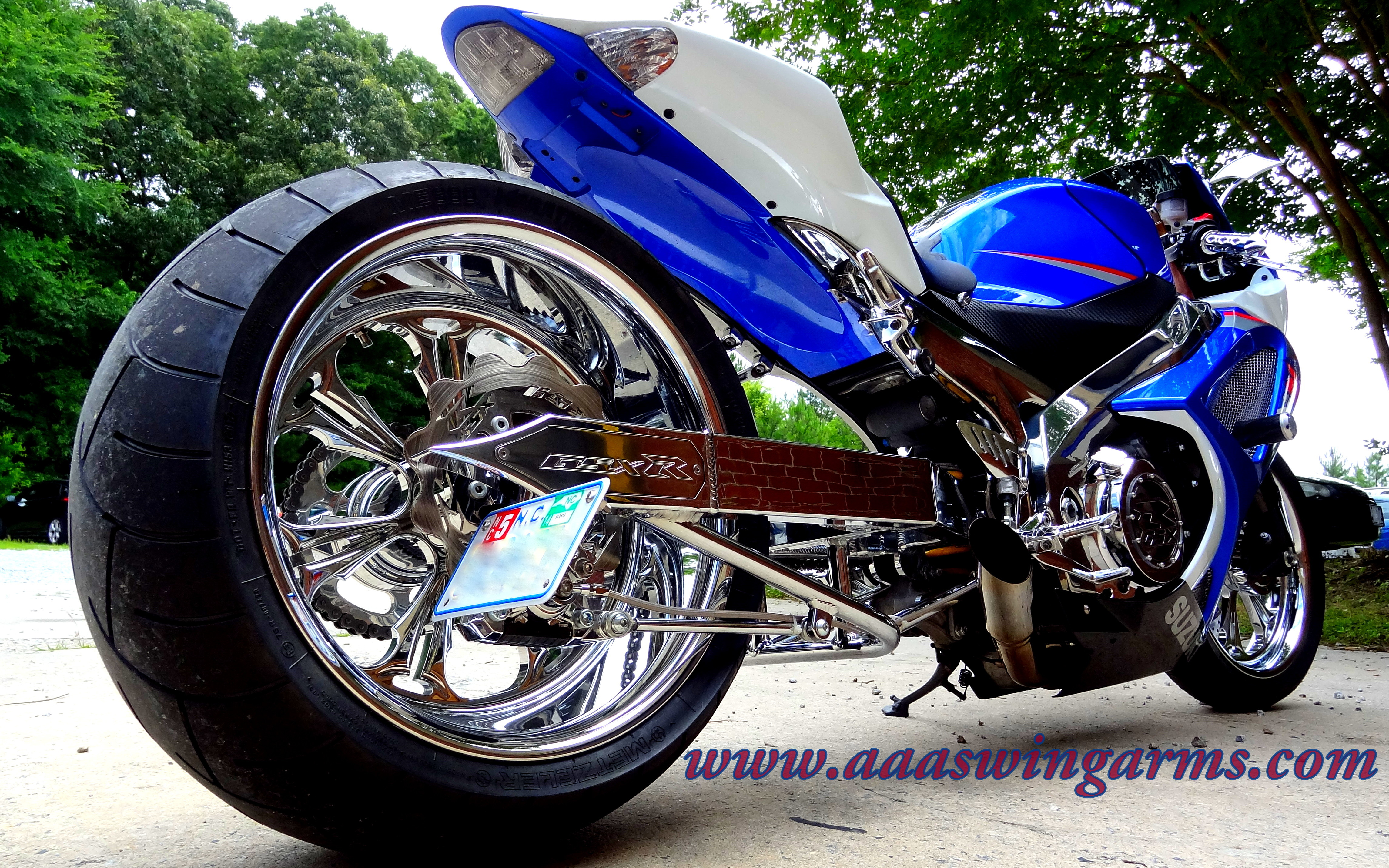 "07 Gsxr 1000 12"" 300 Kit All Chrome"