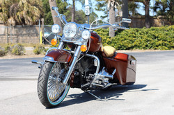 """10 Road King 21"""" Kandy Paint"""