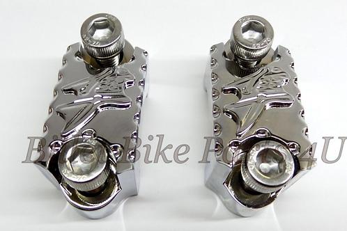 3D Diamond Cut Master Cylinder Reservoir