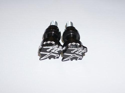 Hayabusa Black Scallop Kanji 3D Cargo Bolts