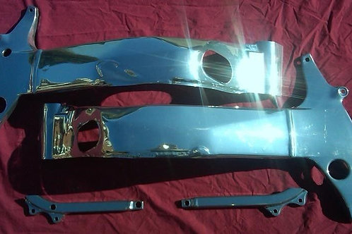 Suzuki SRAD Chrome Frame & Sub Frame Covers