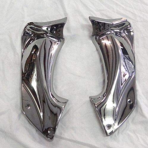 ZX-14R Chrome Ram Air Tube Covers