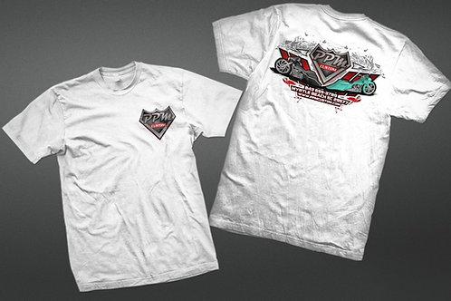 PPM Custom Bagger T-Shirt White